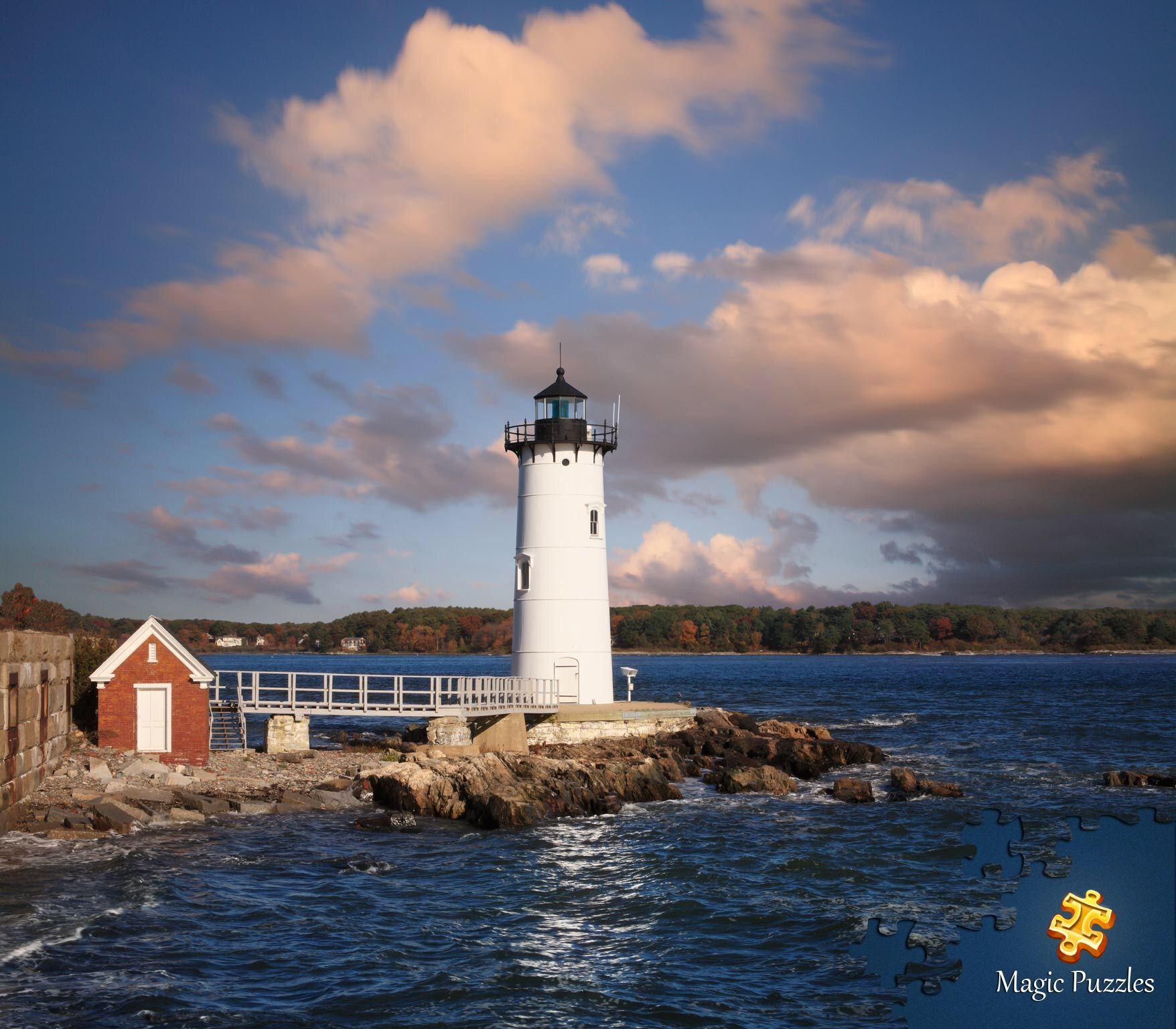 Pin by carol jones on usa lighthouses harbor lights