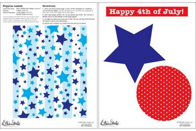 Elle's Studio: Fun 4th of July Free Project Download!