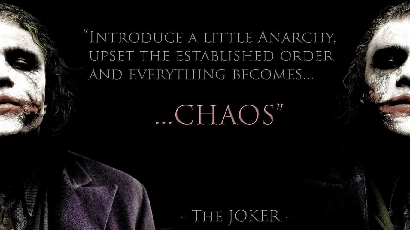 Famous Joker Quotes From The Dark Knight Famous Quotes The Joker