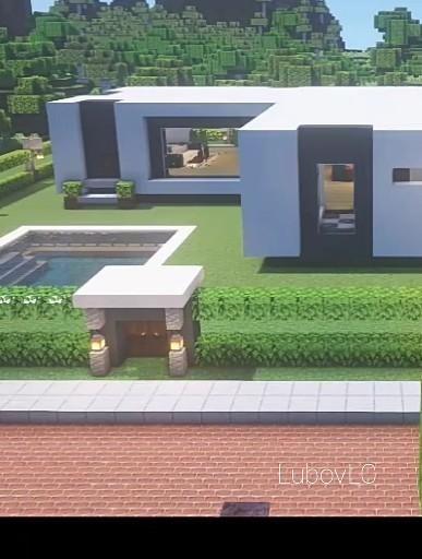 Modern House Minecraft [ Full Tutorial on ]