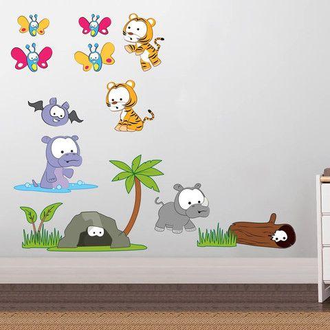 pinbianca apostol on jungles | wall stickers, nursery wall