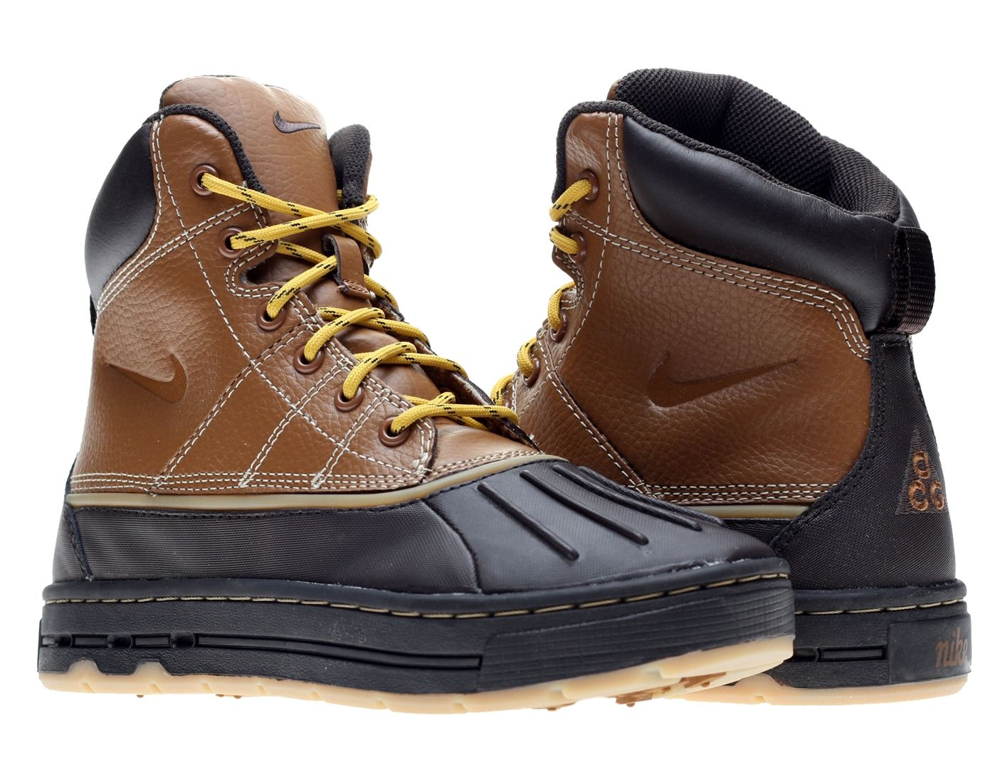Brown Nike Acg Boots For Men  1fa2d4e97f1d0