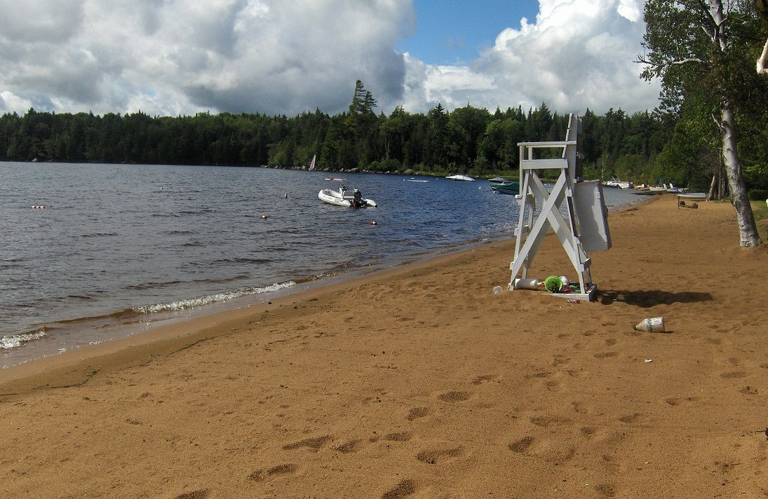 Golden Beach Campground Raquette Lake Ny Camping Blue Mountain Sandy Beaches