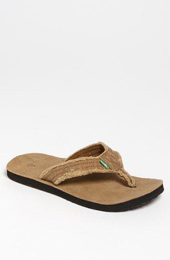 3d2e9baa Sanuk 'Fraid Not' Flip Flop (Men) available at #Nordstrom | Gifts ...