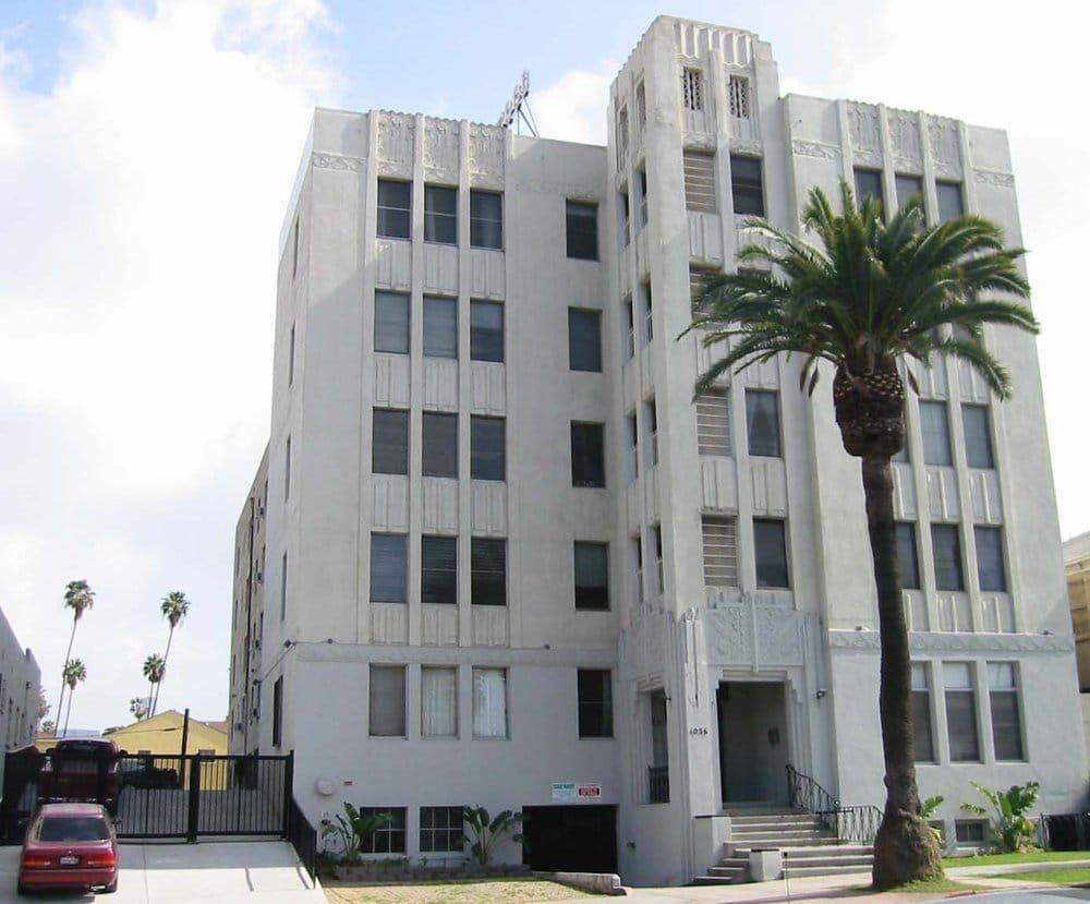 Art Deco ~ Los Angeles | Crestwood Tower Apartments, Menlo Street ...
