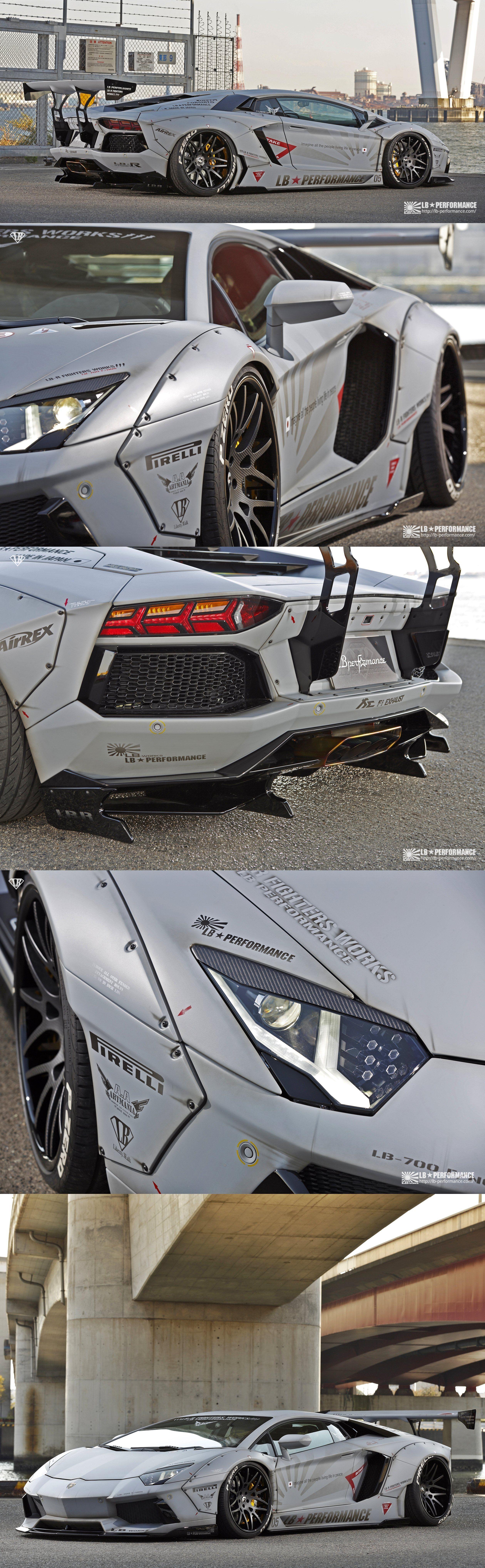 Liberty Walk Lamborghini Aventador Cars Autos Y Motos Coches
