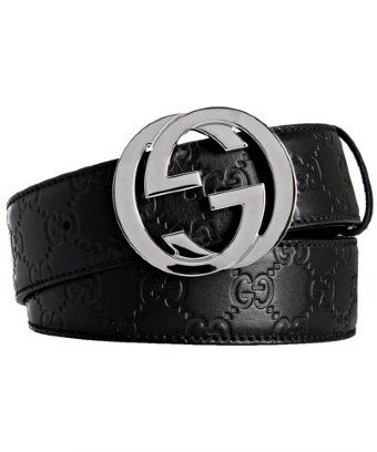 e89c451a8 Gucci -guccissima leather belt with interlocking G buckle | Extra ...