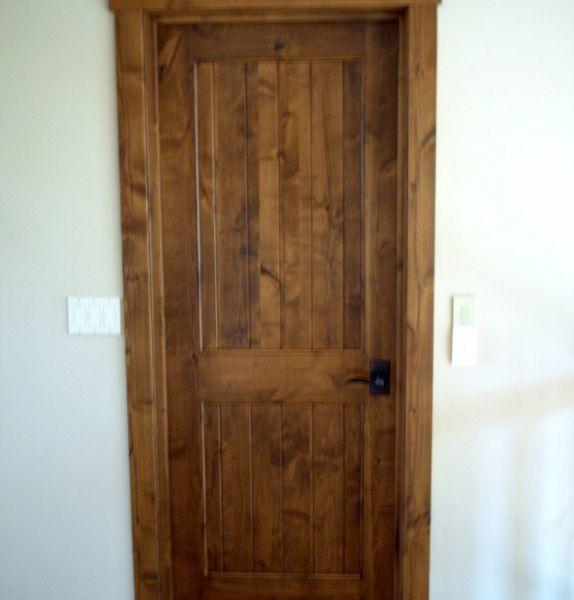 Interior Knotty Alder Doors from Carson Door, Beautiful ...