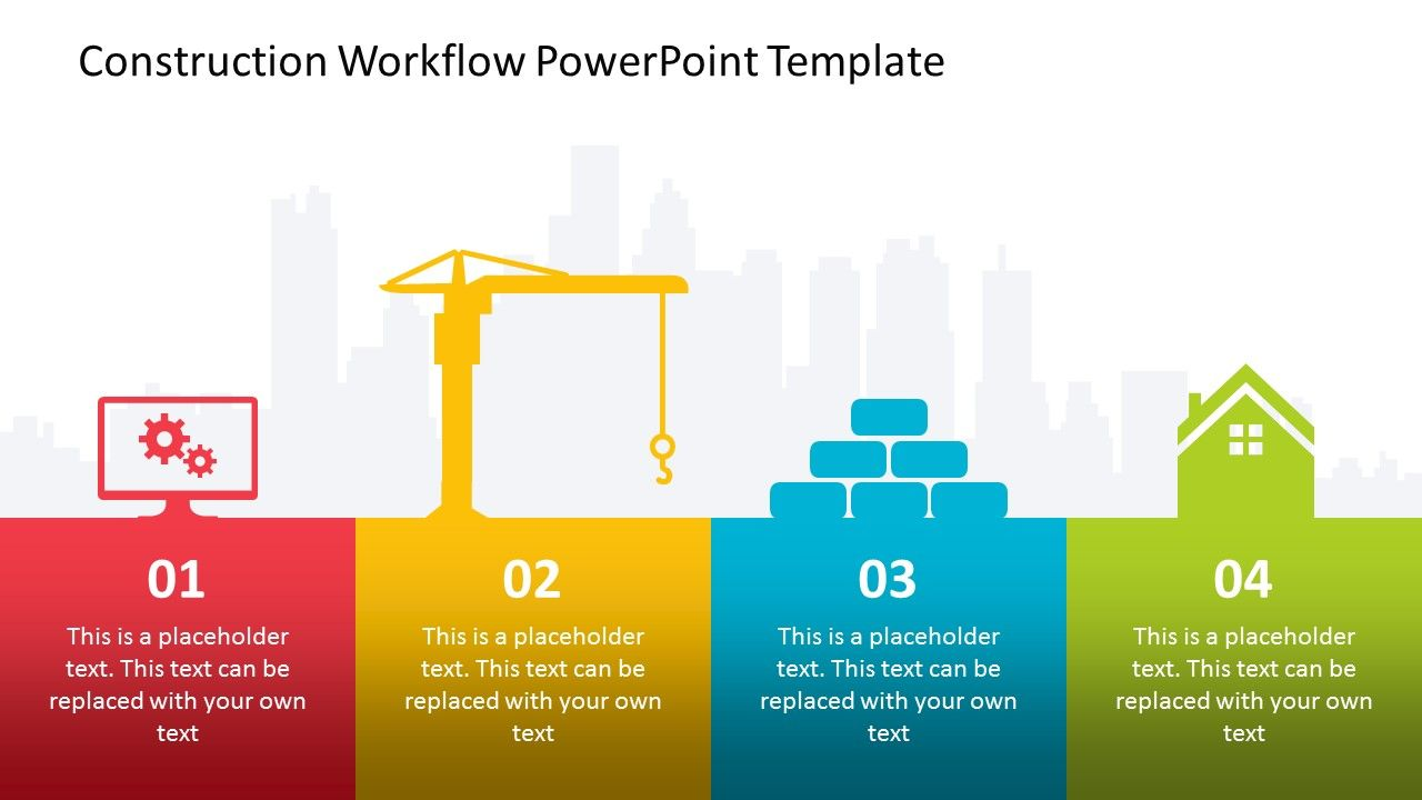 Building A New Structure Takes A Lot Of Time And Planning With The Construction Workflow Powerpo Powerpoint Powerpoint Templates Business Powerpoint Templates