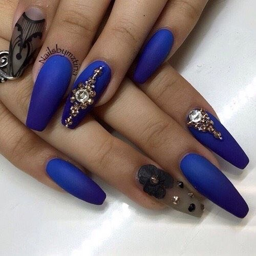 26 Cute Coffin Nails #Beauty #Musely #Tip | Fashion/Health | Pinterest | Coffin Nails Nail Nail ...