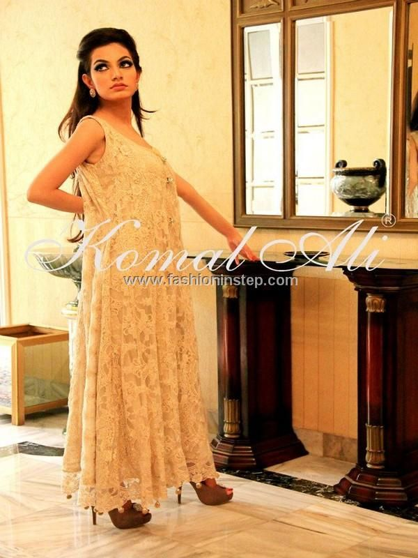 Komal Ali Party Wear Dresses 2013 for Women 004