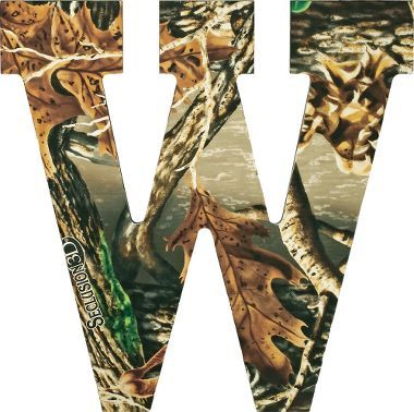 Camo Letters Wall Art | Caddy, Ut and Products