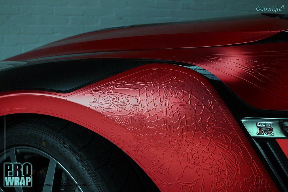 Japanese knifeless GTR wrap Wrapfolio Car wrap, Car
