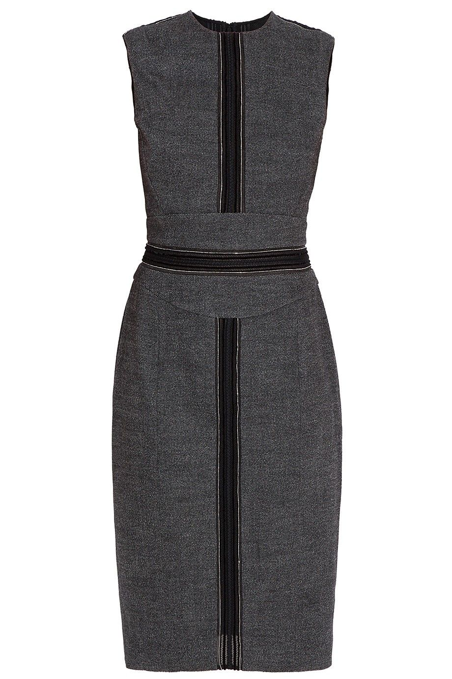 Sl wool short dress by elie saab utique