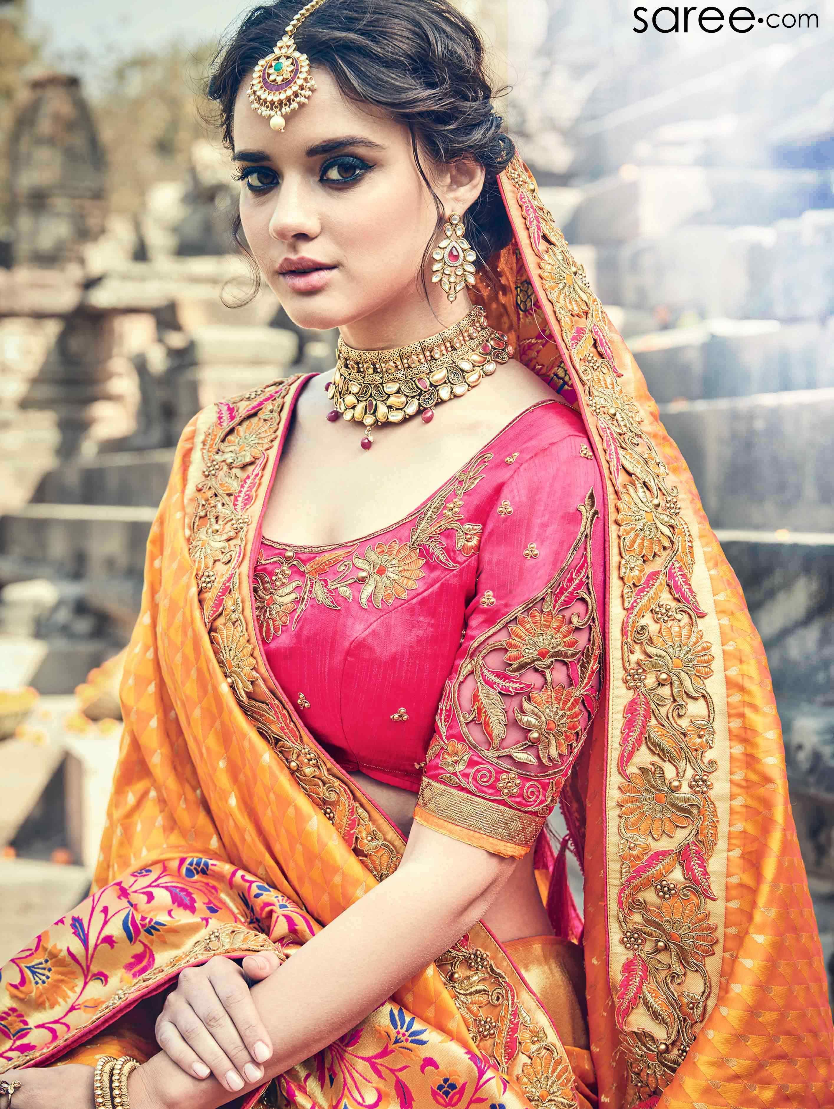 Yellow silk saree yellow silk saree with weaving  lehnga  pinterest  silk sarees