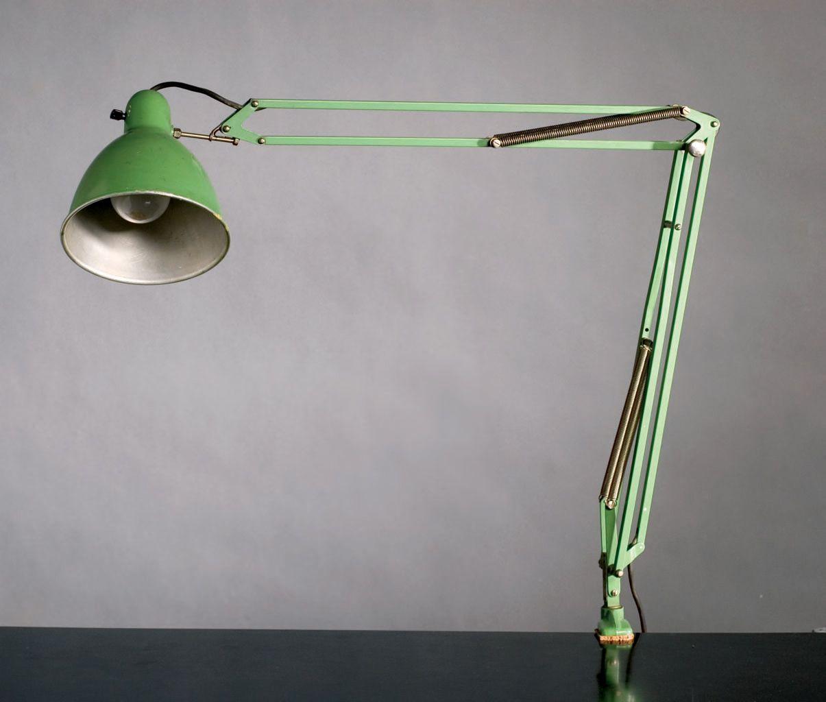 Arbeidslampen Luxo 1001 Seinere Kalt L 1 Jac Jacobsen 1937 Foto Norsk Design Lamp I Love Lamp Desk Lamp
