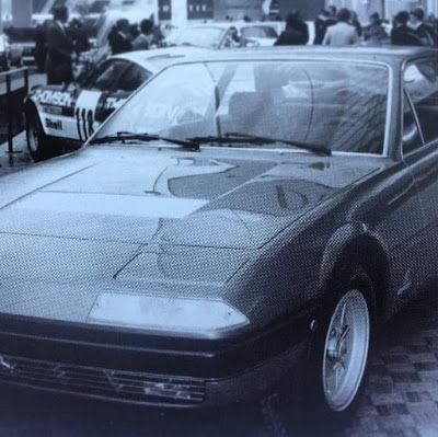 Ferrari 400: Salon de Paris - Ferrari 365GT4 2+2