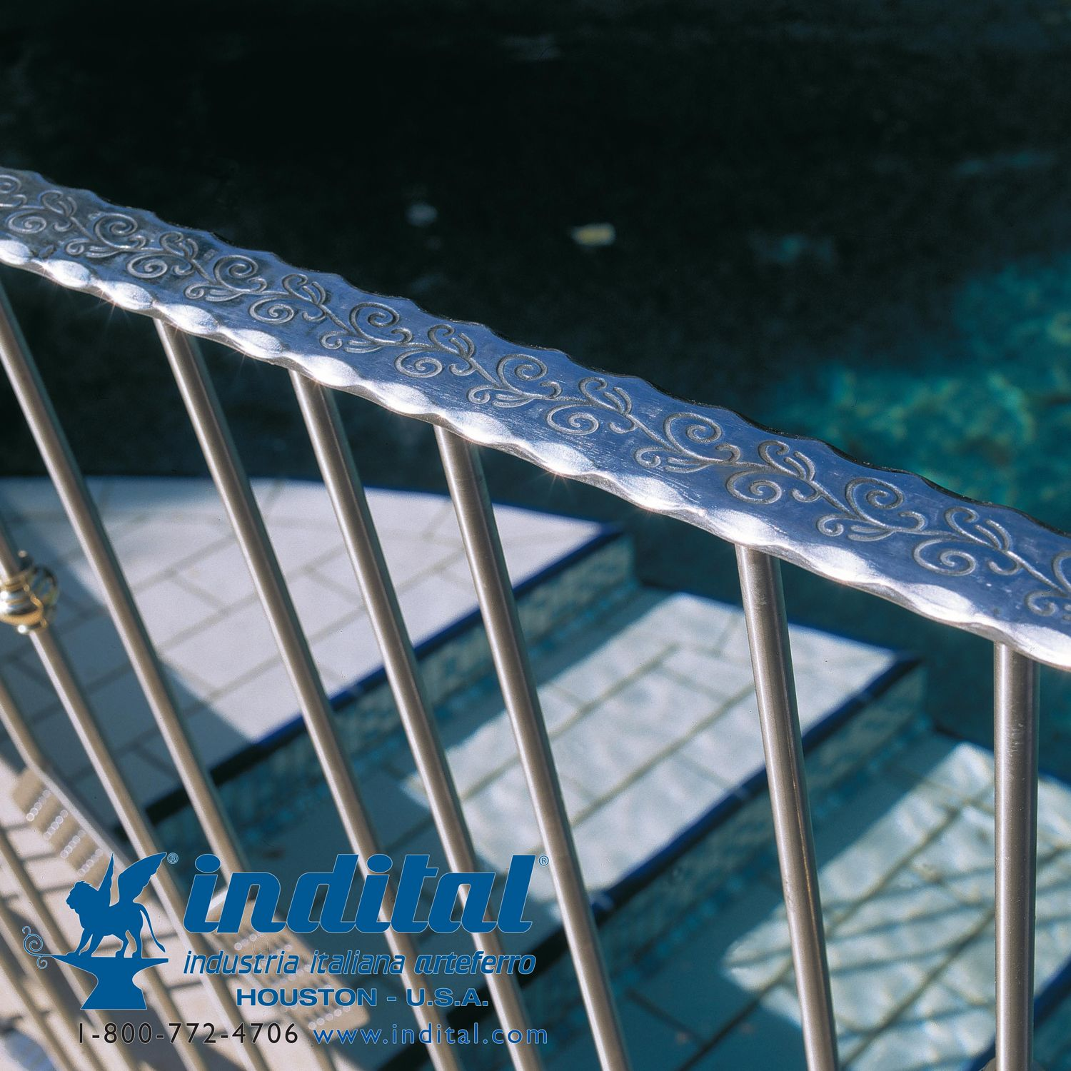 We offer a full range of aluminum rails, balusters, and