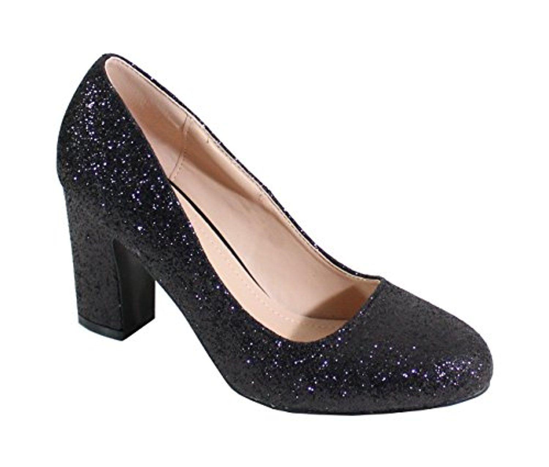 divers styles vente pas cher fournir un grand choix de By Shoes - Chaussure De Soirée Style Pailleté - Femme 2018 ...