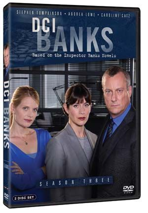 Stephen Tompkinson returns as the tenacious and stubborn Detective Chief Inspector Alan Banks in three more gripping crime stories. Banks is drawn into a strange and unsettling search for 11 year old Kyle Heath when he is abducted by a man and a woman masquerading as social workers, and the death of a journalist in a remote village is strangely connected to a death in the 1980s involving the surviving members of a pop band. Banks' own daughter is put in mortal danger.