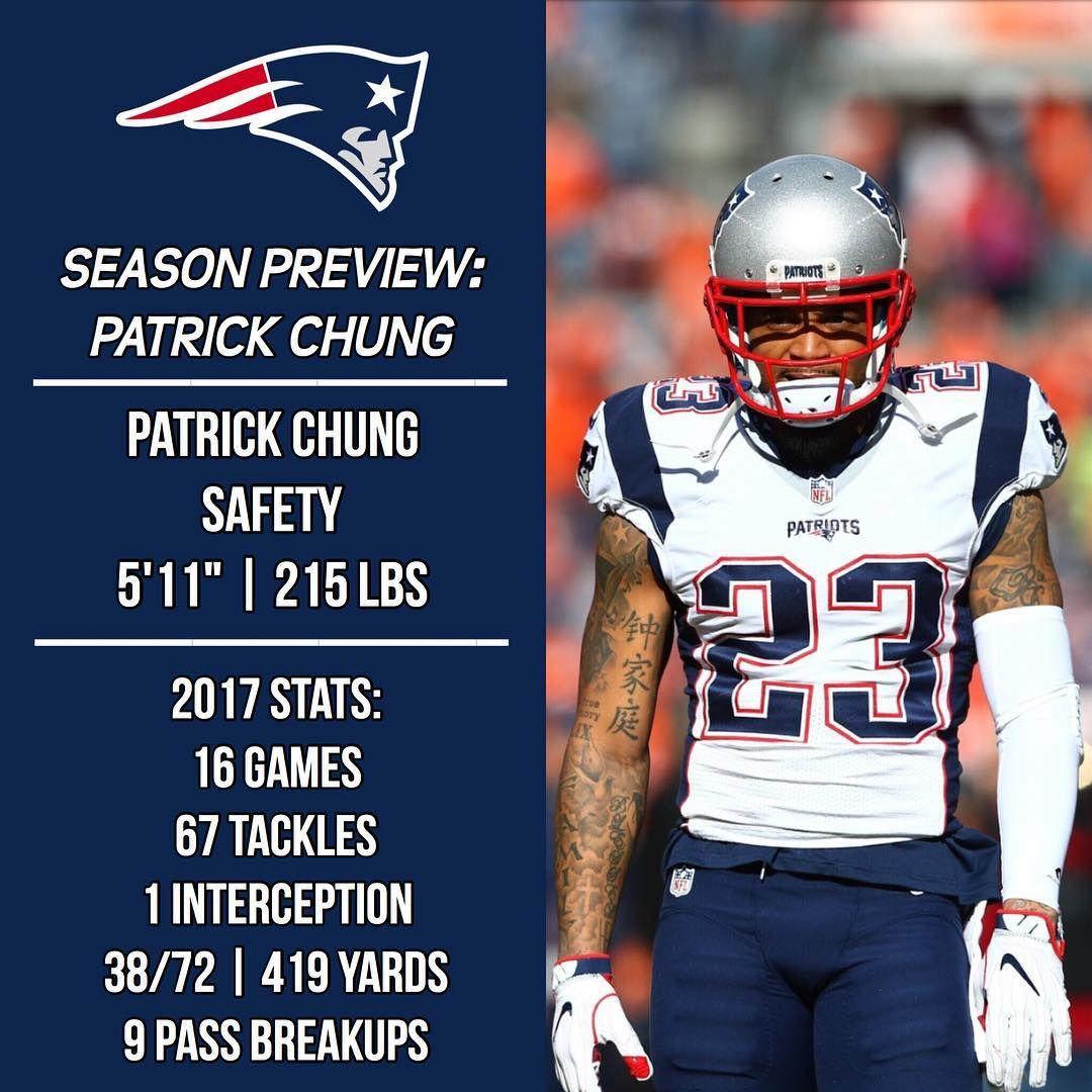 2018 Season Preview Patrick Chung Patr1ots18preview 2018 Contract Details 900k Base Salary 3 8 Mi Patrick Chung Tom Brady Patriots New England Patriots