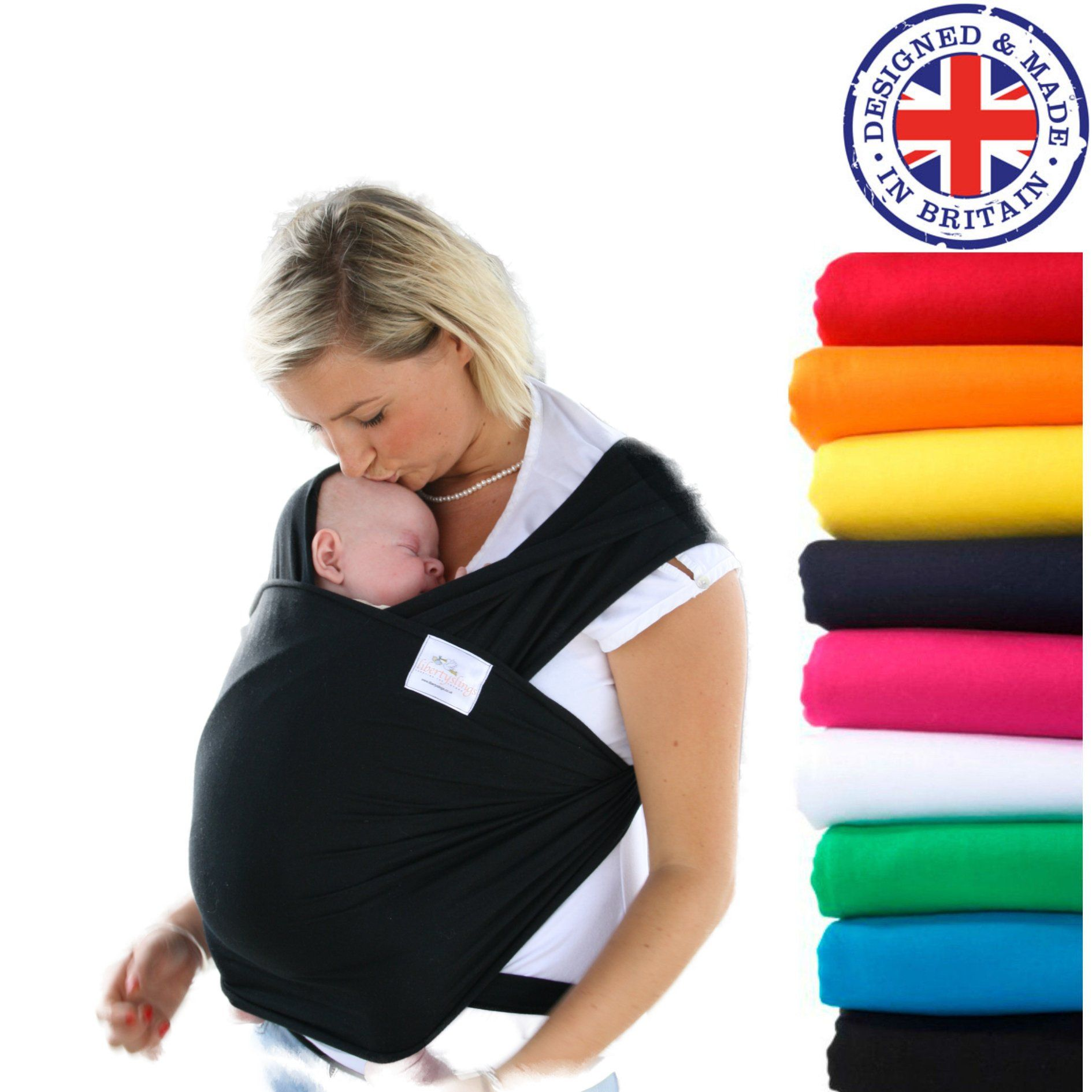 7d09b9cdf45 Baby Wrap Sling by Liberty Slings (choice of colours) Free Shipping   Amazon.co.uk  Baby