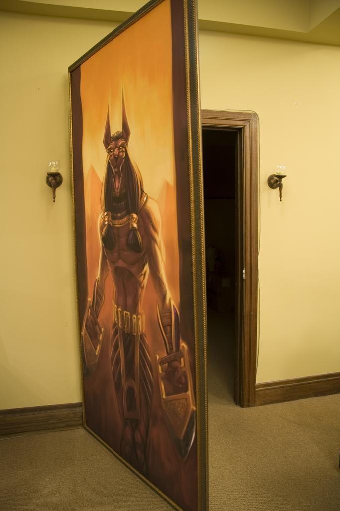 Secret Door Painting | Of course we had to make those into secret doors! & Secret Door Painting | Of course we had to make those into secret ...