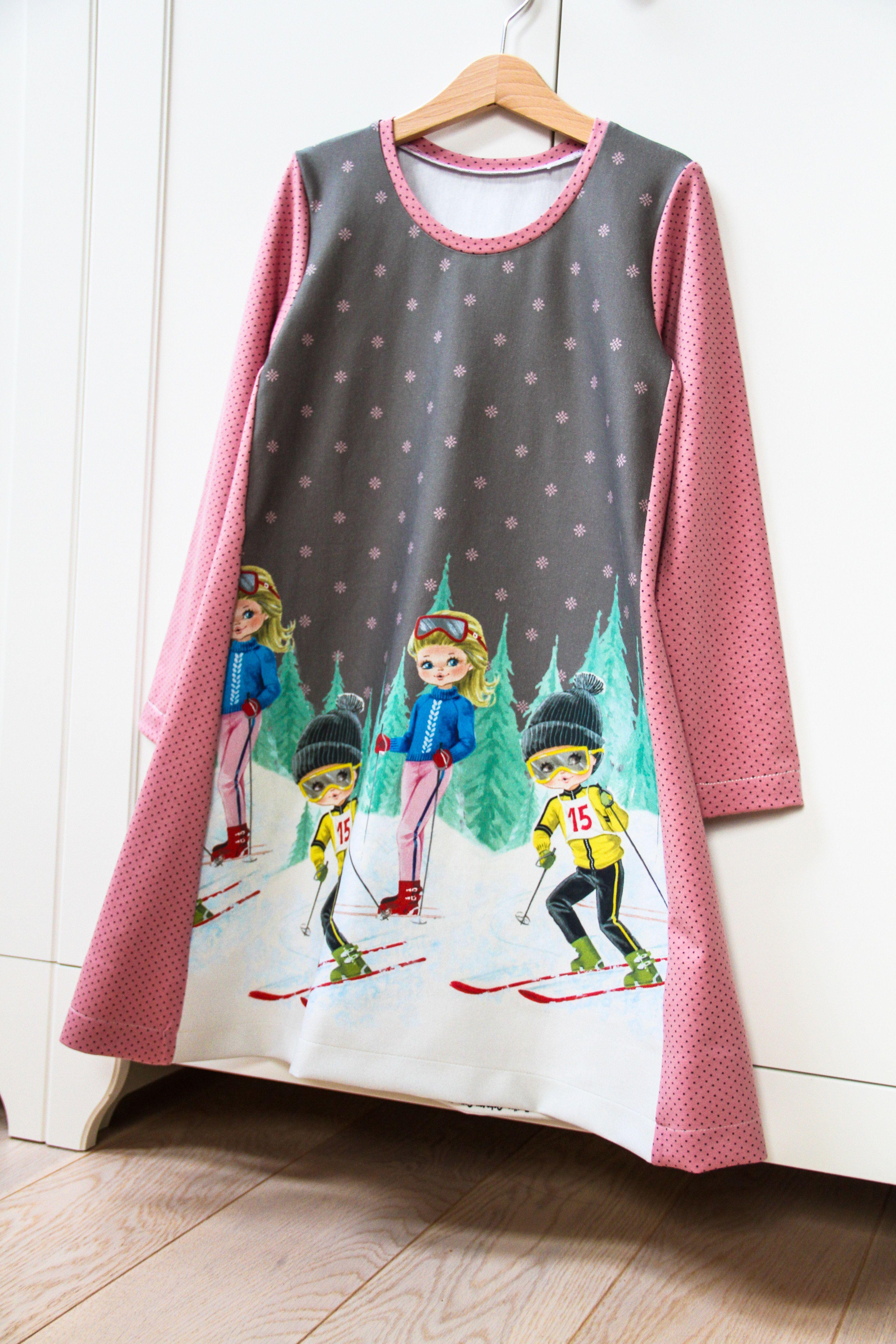 c7df6f33b46 Jednoduché dětské šaty (střih a návod)  šití pro začátečníky
