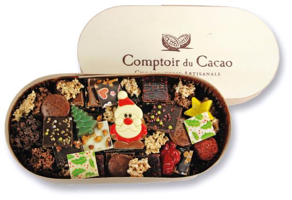Vente Privee Comptoir Du Cacao Prix 24 Au Lieu De 41 Poids Net 520g Ref Mfn05 Feuilletespralines Noisette Pistache Caramel B Couvercle Boite Sables Breton