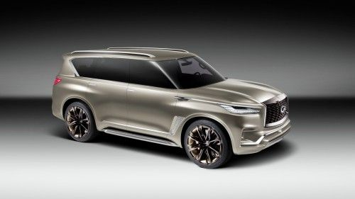 Infiniti Polishes The Qx80 Brings It To New York As A Concept Car Best Pickup Truck Infiniti Best New Cars