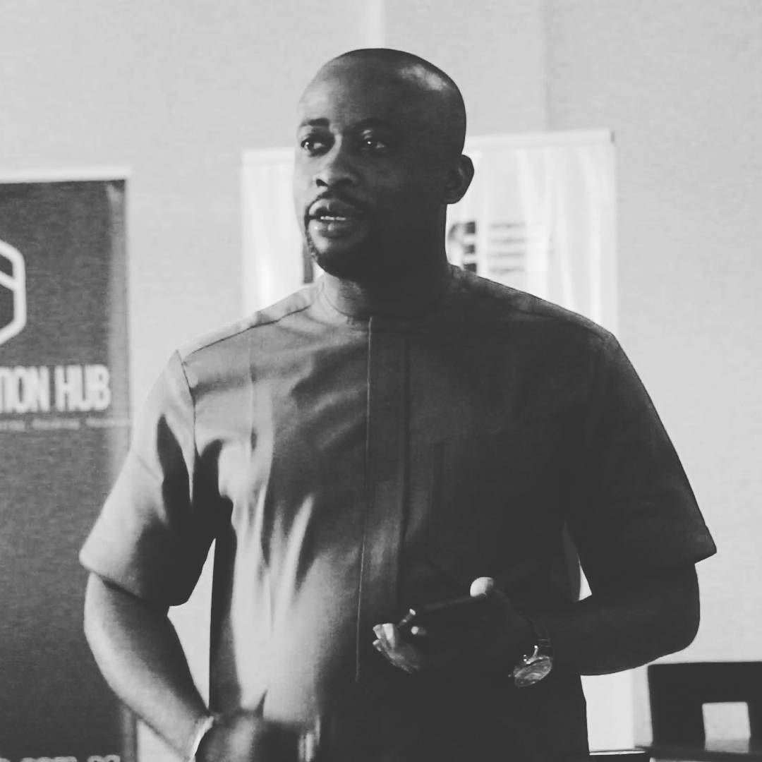 The Honorable Special Assistant to the Governor on ICT Mr. Solomon Eyo giving a remark to the participant at Startup Hub recently.  God bless @solomoneyo the Mark Zuckerberg of Uyo.  #OfficialNaijaPR