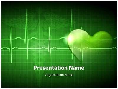 Download our professionallooking PPT template on Heart Beat and – Heart Rate Chart Template