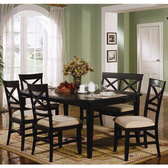 Ashley Furniture Dining Room | ... room furniture formal dining room sets metropolitan black dining room