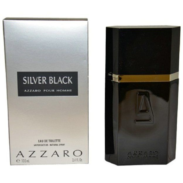 Azzaro Silver Black Eau De Toilette Spray