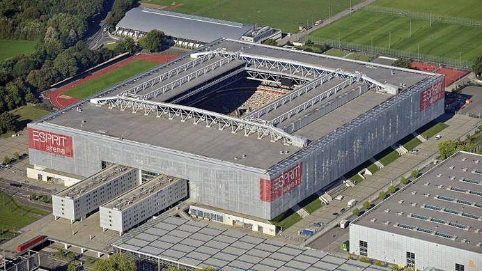 fortuna d sseldorf esprit arena est dios de futebol do. Black Bedroom Furniture Sets. Home Design Ideas