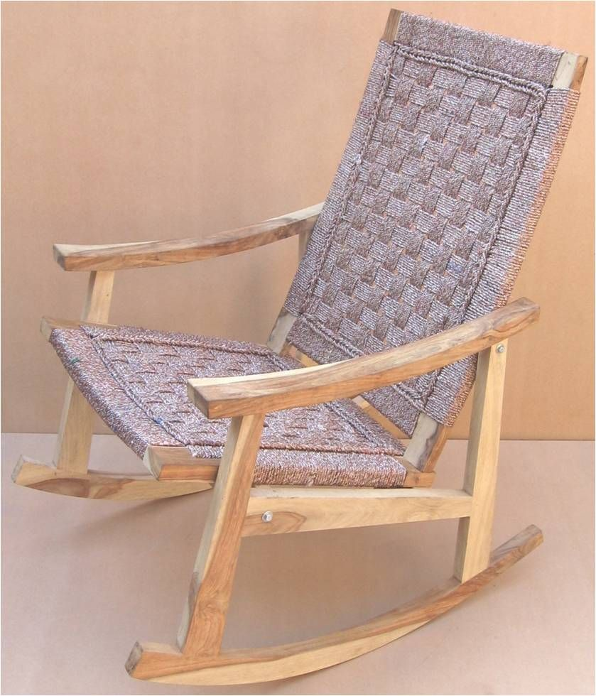 awesome silver rope rocker via Haskell Harris @magpiebyhaskellharris.blogspot.com