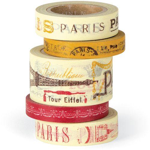 Masking is Fun!    Masking Tape aus Washi (Reispapier), mit unendlichen Anwendungsmöglichkeiten. z. B. zum dekorieren und verpacken von Geschenken, um