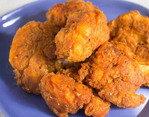 Spicy Fried Cauliflower Chicken Vegan Soul Food Sunday Recipe Video Recipe Vegan Soul Food Recipes Fried Cauliflower