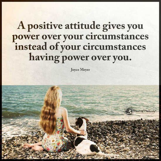 hold on to your positive attitude Beyond the skills and experience to do the job, attitude plays an equal role in company productivity and employee satisfaction look for people with certain attitudes and develop them in the staff you have to make a difference in the bottom line.