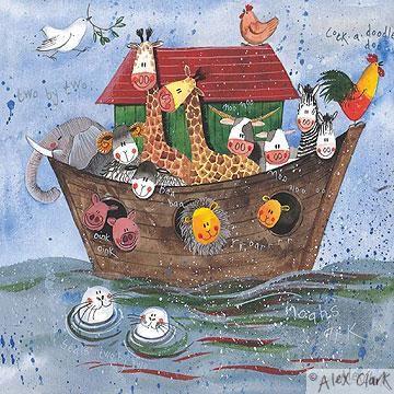 'Noah's Ark' by Alex Clark (E122)