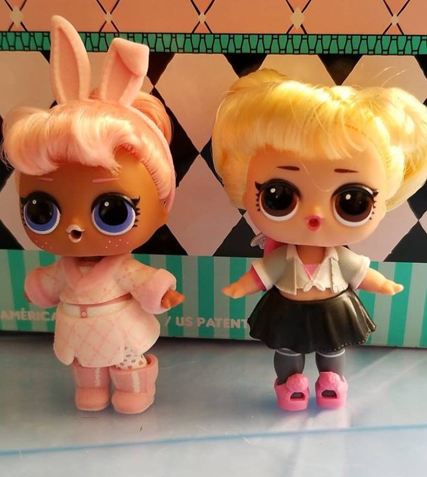 Snow Bunny Oops Baby Lolsurprise Lolsurprisebr Lolpicsbr Bestpicsoflolsbr Asmelhoresfotosdelolbr Lolsurprisedolls Collectlo Lol Dolls Custom Dolls Lol