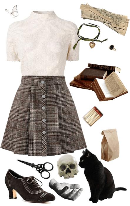 Dark Academia Outfit
