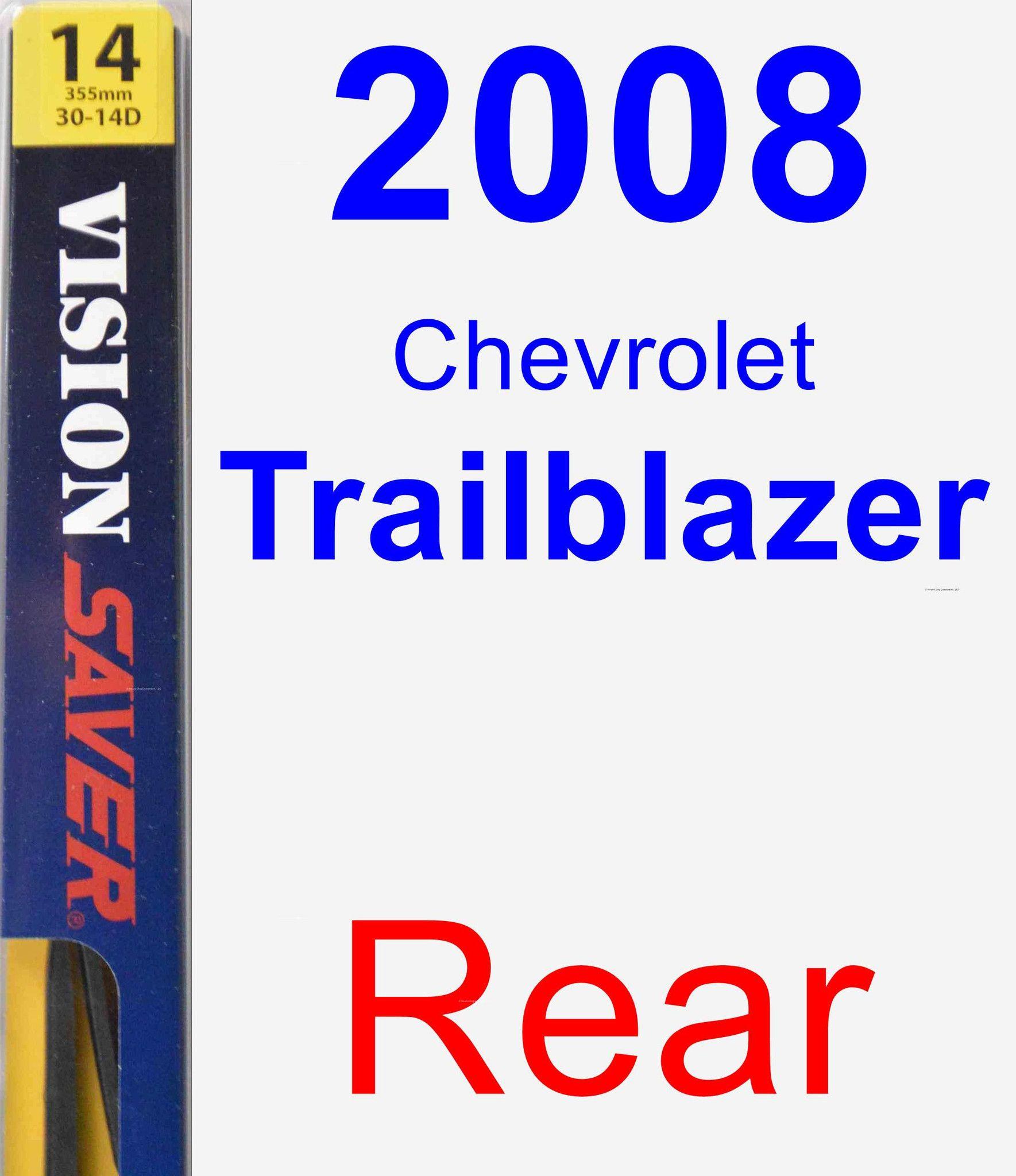 Rear Wiper Blade For 2008 Chevrolet Trailblazer
