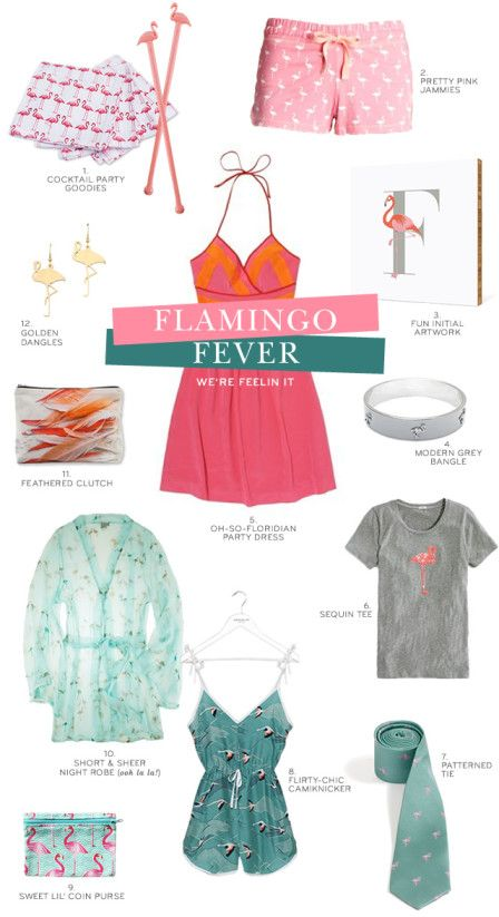 feelin it: flamingo fever