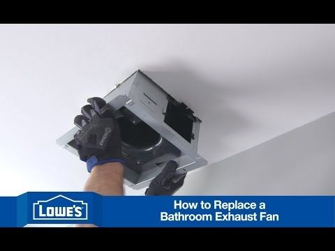 Super Easy & Awesome Video About Replacing Existing Bathroom Fan Adorable Small Bathroom Fans Inspiration