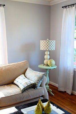 Manhattan Mist Behr Color Of My Bedroom Right Now It Looks Bluey In Some Light And Grayish Purple Others Beautiful