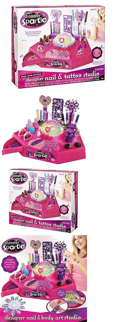 Craft Kits 116655 New Cra Z Art Shimmer N Sparkle Nail And Tattoo
