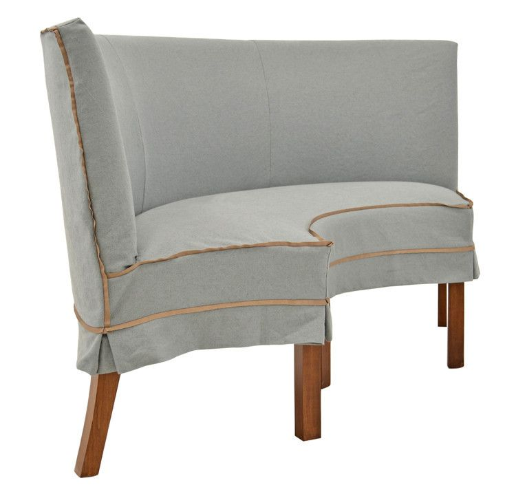 Slip Bench With Linen Slipcover In New Dining U0026 Entertaining | Crate And  Barrel | Rooms That Appeal To Me | Pinterest | Crates, Barrels And Linens
