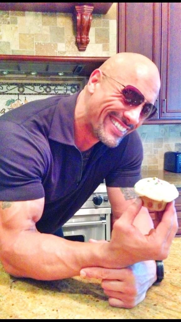 Twitter / TheRock: Devouring all kinds of pie ...