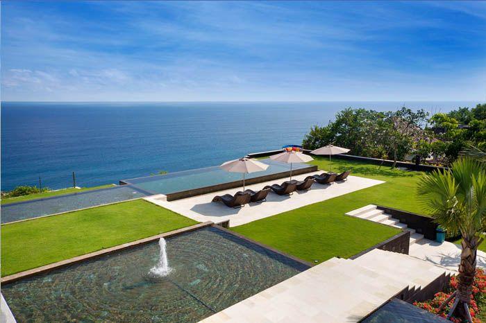 The Sanctus 3 Bedroom Uluwatu Bali Cliff Wedding Event Venue Ocean View Villas Ocean View Uluwatu